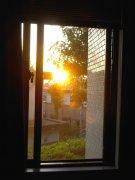 October sun #4